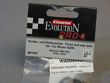 CARRERA 1/32 SLOT CAR FRONT REAR AXLE WILLIAMS F1 BMW race car slotcar CAR 90103