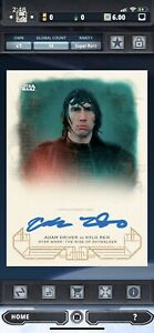Kylo Ren SIGNATURE-GALACTIC HERITAGE-RISE SKYWALKER-TOPPS STAR WARS CARD TRADER