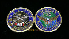 OPERATION ENDURING FREEDOM AFGHANISTAN CHALLENGE COIN US