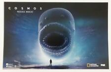 "COSMOS - 11""x17"" Original Promo TV Poster SDCC 2018 MINT Neil deGrasse Tyson"