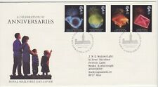 GB Stamps First Day Cover Anniversaries, Elections, IPU etc SHS IV Text 1989