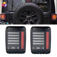 2007-2014 Jeep Wrangler LED Tail Light Jeep JK Rear Led Lights JKU Brake lights