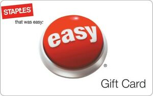 Staple $50 Gift Card with Best Staple Gift Card, $50 Staple New Gift Card