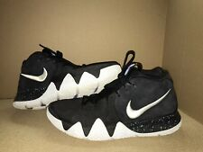 Nike Kyrie 4 Ankle Taker Black White Men's Size 10.5 Pre-Owned Basketball Shoes