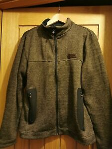 **Fox Chunk Knitted Zip Up Fleece Size Medium ** Carp Fishing
