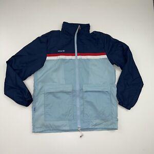 Vintage Adidas Windbreaker Jacket Size Mens Large 80s