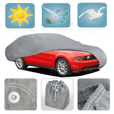 Large Car Cover MAX Auto Protection Sun Dust Proof Outdoor Indoor Breathable
