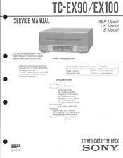 Sony Original Service Manual für  TC- EX 90 / EX 100