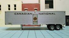 HO scale semi trailer, custom build, 40 feet, Canadian National