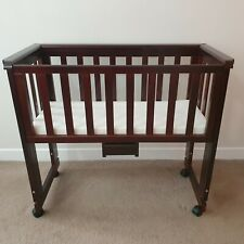 Beautiful Baby Bassinet with Bedside Sidecar Option. Excellent Condition.