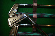 BEN HOGAN IRON SET 3/E - THE APEX PC FORGED BLADE IRONS WITH APEX 4 STEEL SHAFT