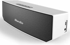 Bluedio BS-3 Portable Bluetooth Stereo Speaker with Mic (White) Free Shipping