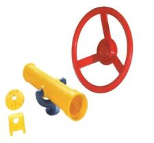 Playground Cubby House Accessories STEERING WHEEL SPY TELESCOPE Pack 2