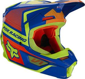 Fox Racing Youth V1 OKTIV Helmet MX ATV MTB UTV Motocross Off-road Dirtbike