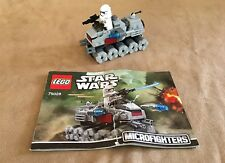 75028 LEGO Star Wars Microfighters Clone Turbo Tank complete trooper minifigure