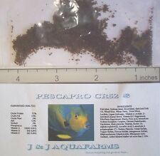 CR52s 52% Fingerling fry FAST GROWTH 1 lb Frontosa Cichlid koi sinking fish food