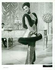 1964 What a Way to Go Glamorous Shirley MacLaine Poses In Fur Trim Dress Photo