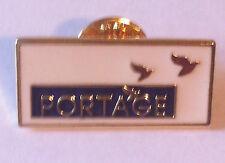 PORTAGE LAPEL PIN