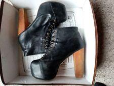 Jeffrey Campell Lita Platform Heel Boots UK Size 5