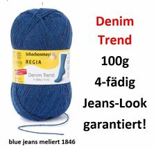 Schachenmayr 9891274-00110 Regia Denim Sockenwolle 4-fädig 100g  Jeans-Look