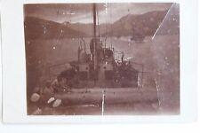 26749 Foto AK Schiff Uzsok in Schluchten von Dalmatien 1. Weltkrieg 1916