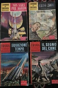 URANIA Romanzi-LOTTO 4 Volumi I e II serie 1^ediz-KORNBLUTH-MAINE-HOUGRON-COOPER