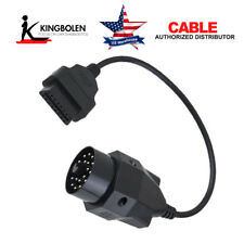 Auto Diagnostic Connector Tool Adapter Cable For BMW 20 Pin To OBD2 Female 16Pin