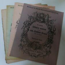 Johan Gottlieb Graun Trio C minor, ensemble de pièces