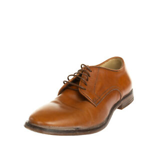 RRP €230 MOMA Leather Derby Shoes EU 36 UK 3 US 6 Stitched Laces Made in Italy