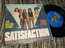 "THE ROLLING STONES Satisfaction/19ª Crisis Nerviosa  7"" 45 1977 Decca *SPAIN*"