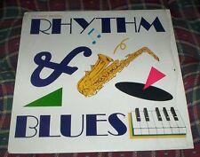 Rhythm & Blues Promotional Vinyl Lp Catalina Clothing Denim Sportswear