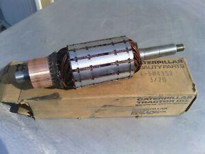 Caterpillar generator armature 5M4352 new old stock item. Suit 12E Motor Grader.