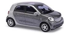 BUSCH 49557 Smart Forfour 2014 CMD gris métallique NOUVEAU & VINTAGE