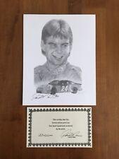 1995 David Maas Signed Print Of Jeff Gordon 293/500