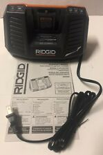 NEW RIDGID R840095 9.6V-18V 18 Volt Li-Ion GEN5X Dual Chemistry Battery Charger
