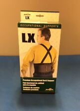 FLA Orthopedics 70-1101SBLK Safe-T-Lift Occupational Back Support, X-Small