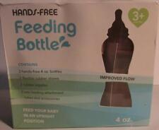 Hands-Free Feeding Bottle 4 oz Tinukim Set of 2 - NEW Other