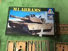 Italeri M1 Abrams Tank  1:72 Scale No 7001 Model