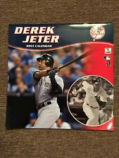 DEREK JETER 2013 CALENDAR NY YANKEES NEW YORK BASEBALL HALL OF FAME PHOTOS
