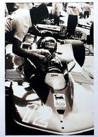 GILLES VILLENEUVE F1 Driver 1979 FERRARI 312 T4 Race Car Photograph F.R. Mazzi