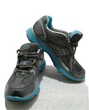 Skechers Tone ups Blue Gray Fitness Walking Toning Shoes 11751 Women's Size 8