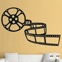 Cinema Film TV Living Room Family Wall Art Stickers Decals Vinyl Home Decor