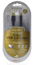 Belkin Gold Series 2.0 USB Cable Hi- Speed 6ft