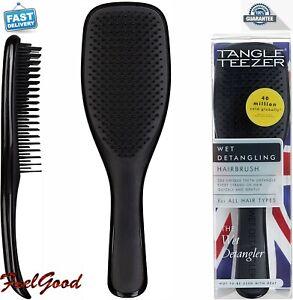 Tangle Teezer Hairbrush Wet Detangler Slim Handle Brush Hair Conditioners BLACK