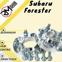 20mm Hubcentric wheel spacers to fit Subaru Forester 1 pair 5x100 56.1 UK MADE