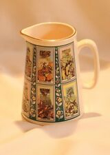 Eastgate Pottery Picture Card Small Jug Made For Ringtons Tea Company 1980's