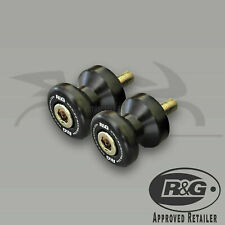 R&G RACING BLACK COTTON REELS KTM 690 SMC 2008 ONE PAIR
