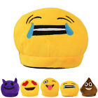 Men Women Kids Emoji Plush Stuffed Unisex Slipper Winter Home Indoor Shoes Size