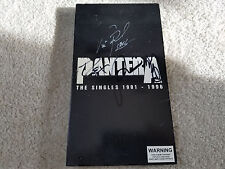 PANTERA The Singles 1991-1996 6 cd set SIGNED AUTOGRAPH Dimebag Phil Rex Vinnie