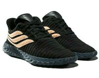 Adidas Sobakov Core Black Chalk Coral BB7674 Mens Sneakers
